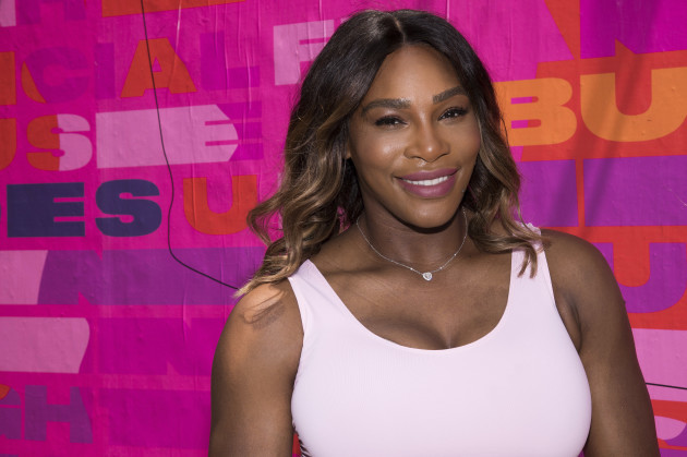 Serena Williams and Allstate Foundation Purple Purse Campaign Launch