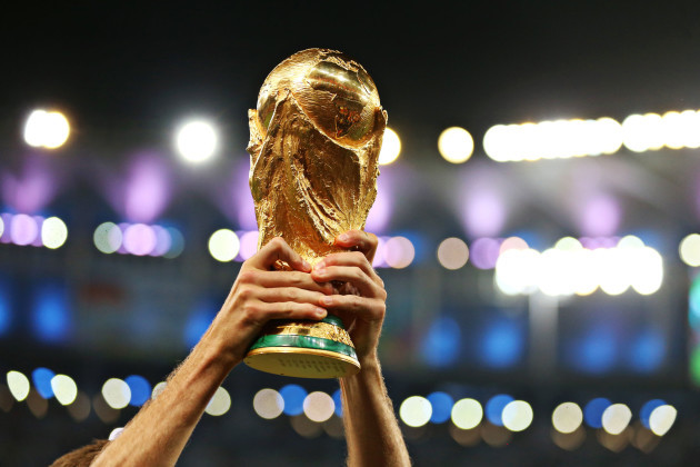 World Cup Trophy File Photo