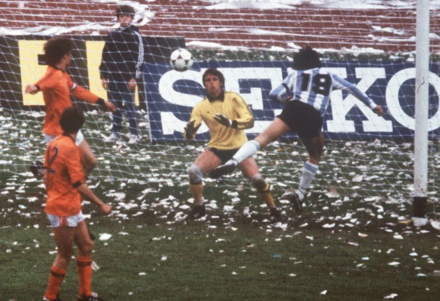 Soccer World Cup 1978: Argentina vs. The Netherlands 3:1