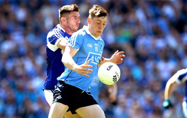 Con O'Callaghan with Colm Begley