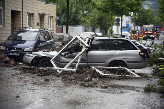 Germany House Explosion