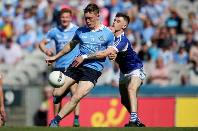 Con O'Callaghan and Trevor Collins
