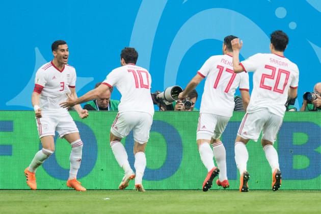 FIFA World Cup 2018 / Preliminary Round / Morocco - Iran 0: 1
