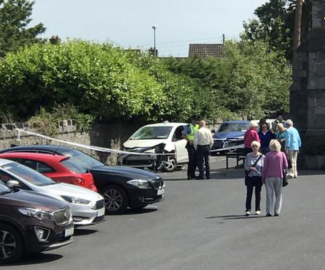 Car hits pedestrians in Clondalkin
