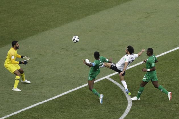 Russia Soccer WCup Saudi Arabia Egypt