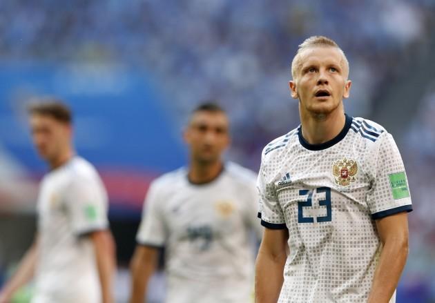 Russia Soccer WCup Uruguay Russia