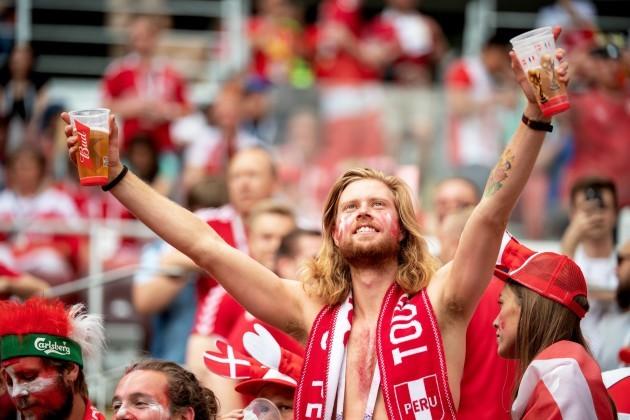 Denmark v France - FIFA World Cup 2018 - Group C - Luzhniki Stadium