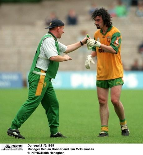 Declan Bonner and Jim McGuinness 21/6/1998