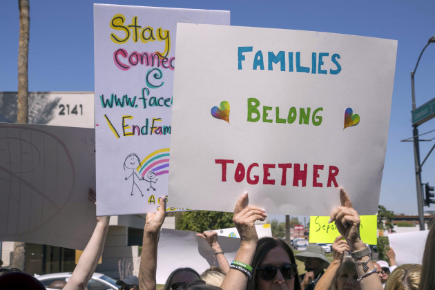News: Family Separation Protest
