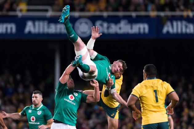 RUGBY: JUN 23 Ireland at Australia