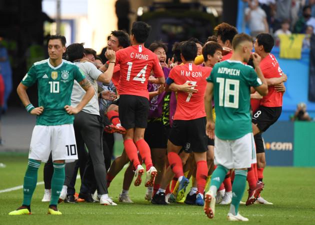 (SP)RUSSIA-KAZAN-2018 WORLD CUP-GROUP F-GERMANY VS SOUTH KOREA