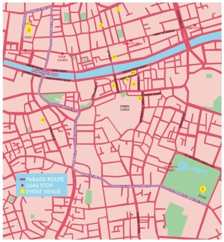 Map parade