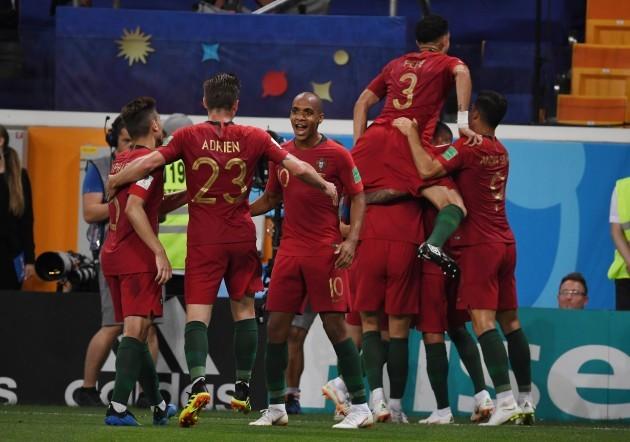 Russia: World Cup - Portugal vs Iran