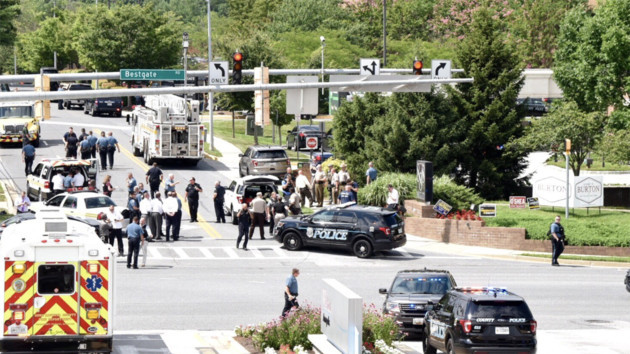 Shooting reported at Capital Gazette newspaper in Annapolis - Maryland