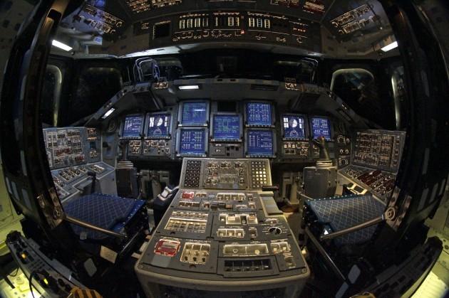 space shuttle original cockpit - photo #9