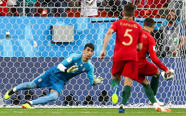 2018 FIFA World Cup Group Stage: Iran vs Portugal