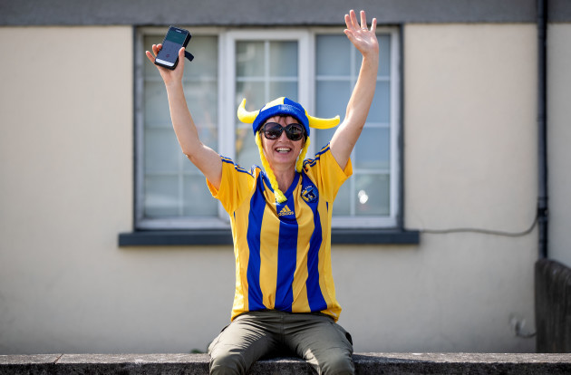 A Clare fan ahead of the game