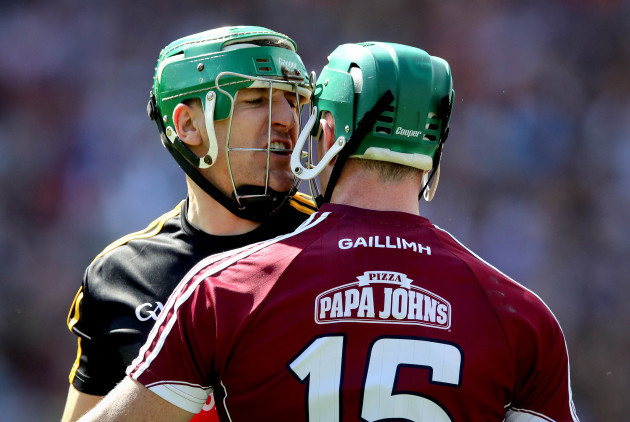 Cathal Mannion and Eoin Murphy