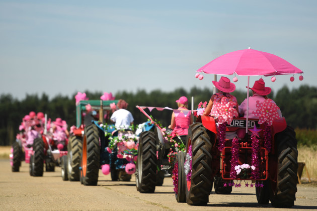 The 15th Annual Pink Ladies Tractor Road Run