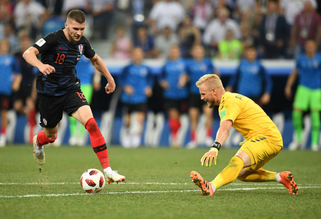 (SP)RUSSIA-NIZHNY NOVGOROD-2018 WORLD CUP-ROUND OF 16-CROATIA VS DENMARK