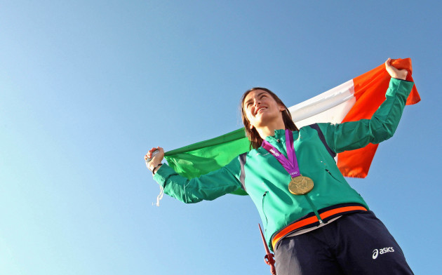 Ireland's Olympic gold medalist Katie Taylor