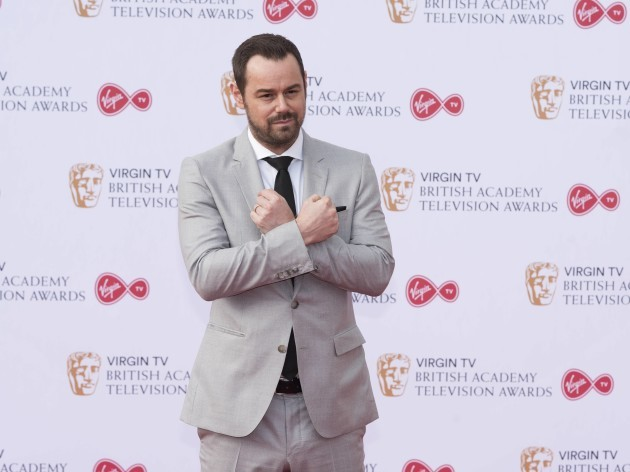 Danny Dyer attends the Virgin TV British Academy Television Awards at Royal Festival Hall. London, UK. 14/05/2017