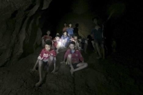 THAILAND-CHIANG RAI-MISSING FOOTBALLERS-RESCUE