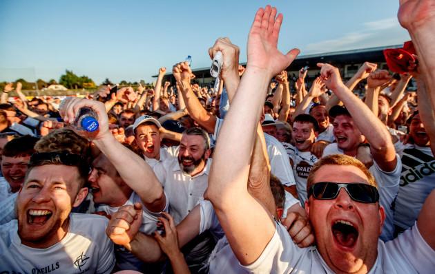Kildare fans celebrate