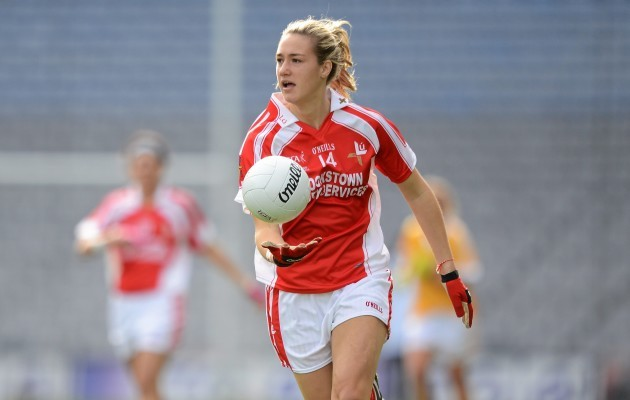 Antrim v Louth - TG4 All-Ireland Ladies Football Junior Championship Final