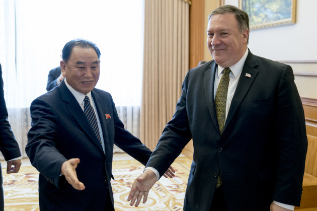 North Korea US Pompeo