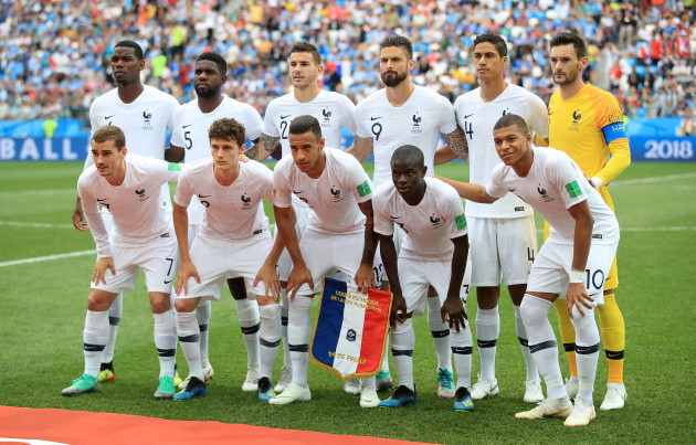 Uruguay v France - FIFA World Cup 2018 - Quarter Final - Nizhny Novgorod Stadium