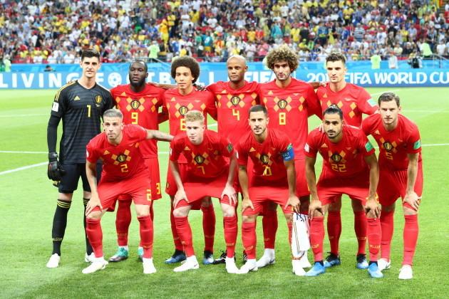 Russia: FIFA World Cup Russia 2018. Brazil vs Belgium