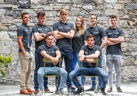 Sean Waddilove, Tadgh Donnelly, Mark Hassett, Robert Dickson, Aoife Hopkins, , Finn Lynch, James O'Callaghan and Liam Glynn