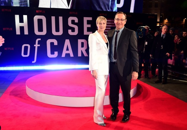 House of Cards - Season 3 Premiere - London