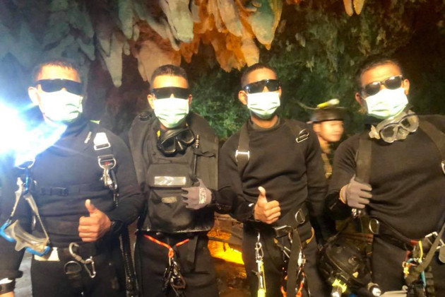 THAILAND-CHIANG RAI-FLOODING CAVE-FOOTBALL TEAM-RESCUE-SUCCESS