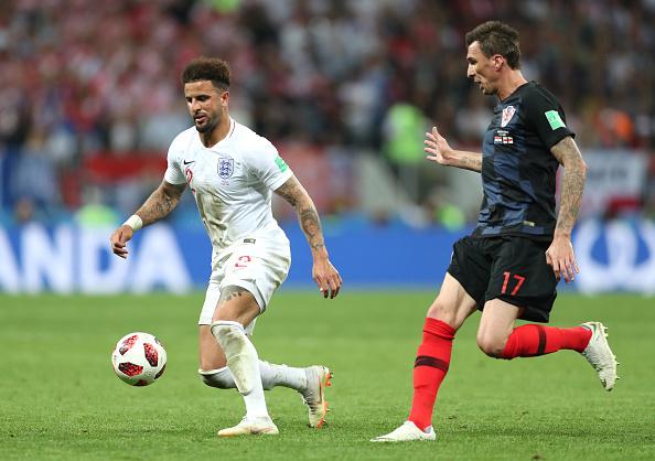 dfcec89a0 England v Croatia  Semi Final - 2018 FIFA World Cup Russia