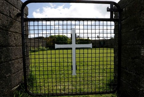 """File Photo CHILDREN'S MINISTER Katherine Zappone has apologised to survivors of the former mother and baby home in Tuam, Co Galway after """"highly confidential information"""" about the site was leaked to the media. In a statement issued this morning, Za"""