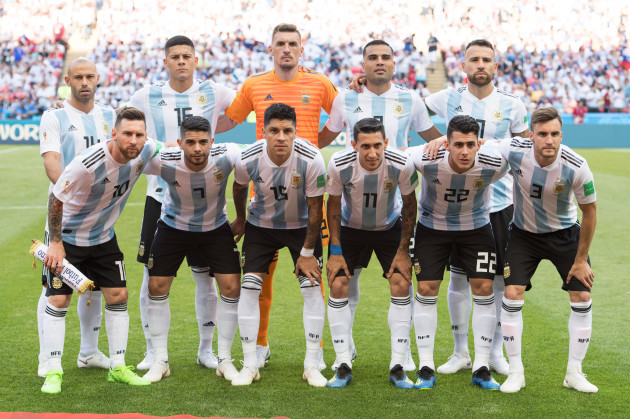 FIFA World Cup 2018 / Round of 16 / France - Argentina 4: 3