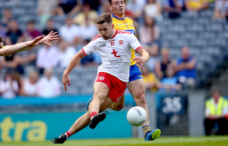 Niall Sludden scores his side's opening goal