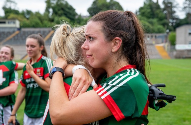 Noirin Moran celebrates after the game