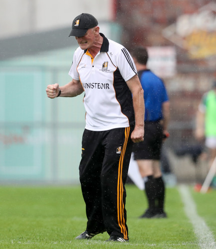 Brian Cody reacts to a missed chance