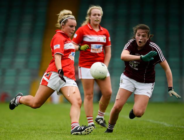 Galway v Cork - All-Ireland Ladies Football Minor A final