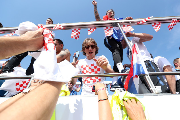 (SP)CROATIA-ZAGREB-FIFA WORLD CUP-NATIONAL TEAM