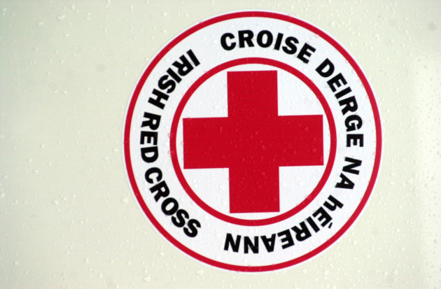NEW IRISH RED CROSS AMBULANCES LOGOS FIRST AID HUMANITARIAN ORGANISATIONS EMERGENCIES SERVICES
