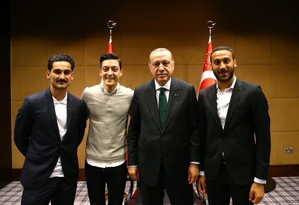 President of Turkey Recep Tayyip Erdogan in London