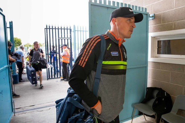Kieran Donaghy arrives