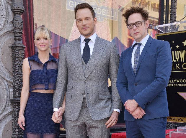 Actor Chris Pratt Honored With Star On The Hollywood Walk Of Fame