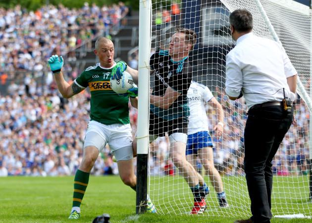 Kieran Donaghy and Rory Beggan