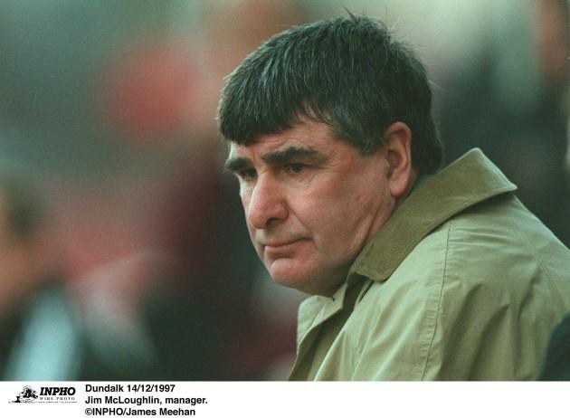 Jim McLoughlin 14/12/1997