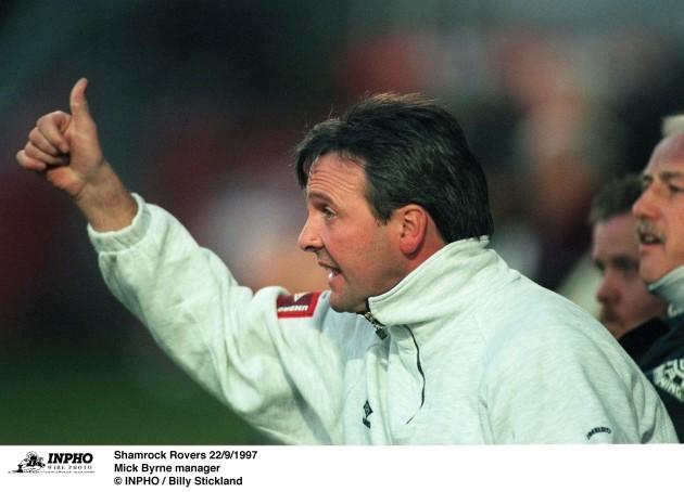 Mick Byrne 22/9/1997
